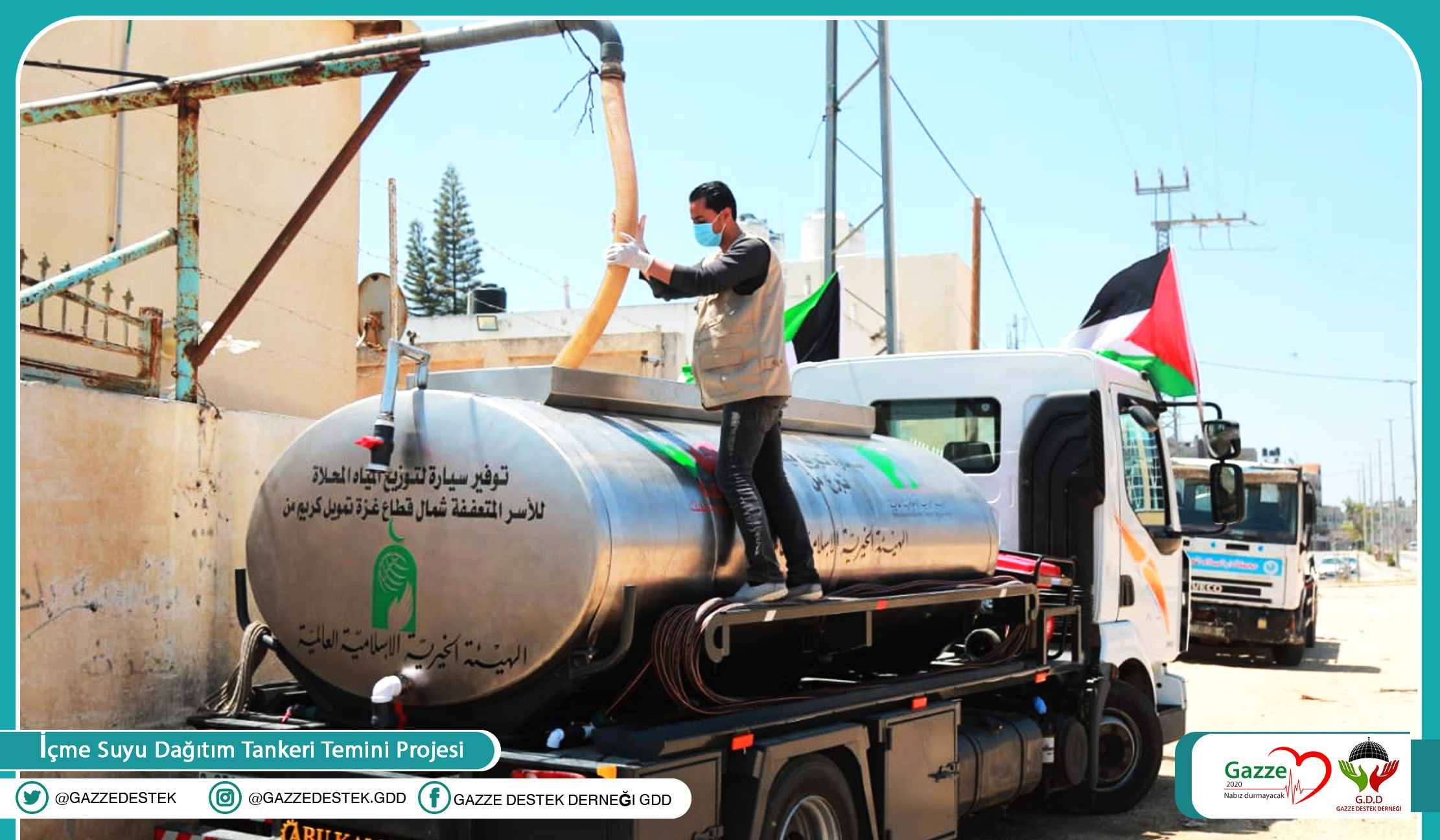 A Project to Provide a Vehicle with a Tank to Distribute Desalinated Drinking Water